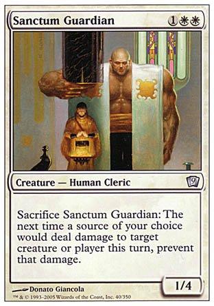 Wizards of the Coast Magic: The Gathering - Sanctum Guardian - Ninth...