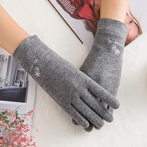 Fnito Warme Winterhandschuhe Frauen-Herbst-Winter-Touch Screen Handschuh-warme Starke volle Finger-Handschuh-Frau innerhalb der Handschuhe