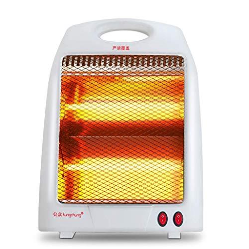 Pkfinrd Happy Space Heater Tower Silent Heater Mini Office Home Snelle energiebesparing Desktop draagbare en instelbare verwarming Veiligheid Verwarming Verwarming Quartz Verwarming 800W