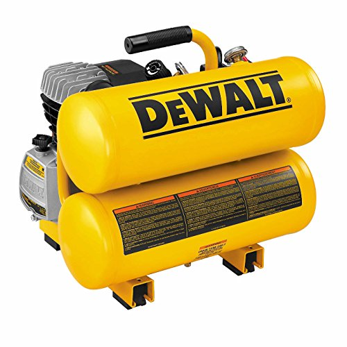 Dewalt D55153R 1.1 HP 4 Gallon Oil-Lube Hand Carry Air Compressor (Renewed)