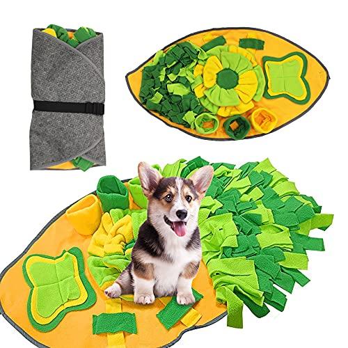 Gobesty Schnüffelteppich Hund, Schnüffelteppich für Hunde, Intelligenzspielzeug für Hunde,...