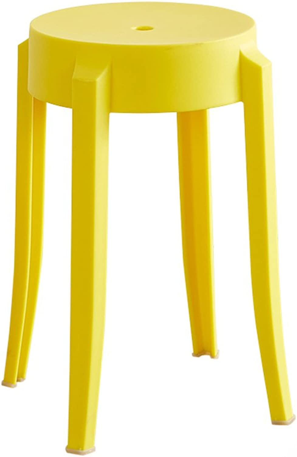 European Chair Household Plastic Chair, Thick Small Bench Restaurant Simple Dining Table Stool