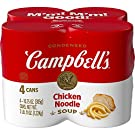 Campbell's Condensed Chicken Noodle Soup, 10.75 Ounce Can, 4 Count (Packaging May Vary)