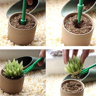 2 pcs/lot Portable Jardin semis outils Mini plantation creuser outils Plastique Hole Puncher DIG semis outils