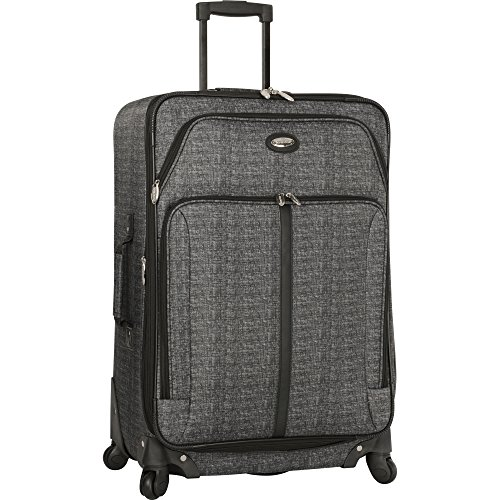 Travel Gear Luggage 29' Expandable 4wheel Spinner Suitcase, Heather