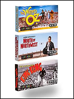 Fliptomania Classic Movies Flipbook 3-Pack: Wizard of Oz, North by Northwest, King Kong (Original)