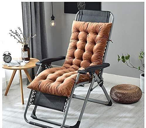 Cojín para asiento Cojín de Espuma Memoria Cojín p Butaca Cojín amortiguador de asiento de silla de jardín Cojín amortiguador trasero alto amortiguador trasero con lazos for sillas cojines for sillas