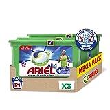 Ariel Pods Allin1 Detergente en Cápsulas para Lavadora, Active Odour Control, 129 Lavados (3 x 43)