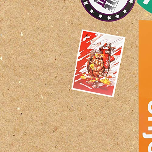 M Matte Skate-Aufkleber – Skateboard-Marken – Singles & Bundles – Supreme Monster (4,5 x 7)