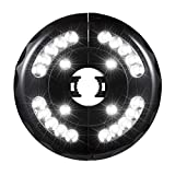 Riosupply - Paraguas recargables por USB, 20 + 4 LED, lámpara portátil para...