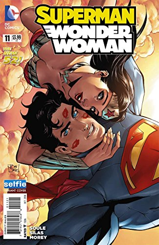 Superman Wonder Woman #11 (Rare Selfie Variant Cover) 1st Print