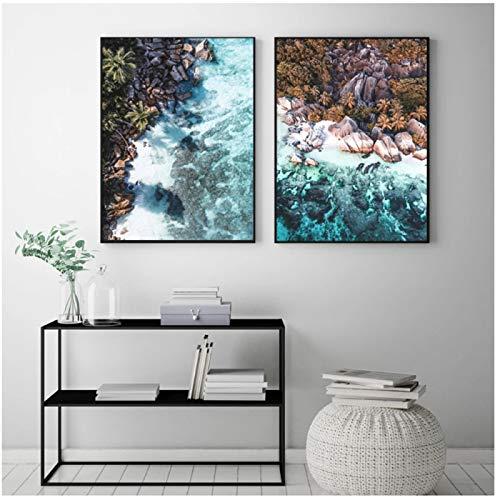 Cartel Natural de viaje, pintura en lienzo de moda, paisaje abstracto, impresión artística, fotografía, cuadro de pared para la decoración de la habitación del hogar