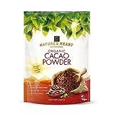 Natures Heart - Polvo de cacao orgánico (200 g, 10 unidades)