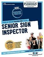 Senior Sign Inspector (Career Examination)