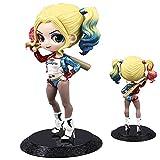 Actions Estatua De Harley Quinn (15.5 Cm De Alto) Muñeca Móvil Yellow Hair