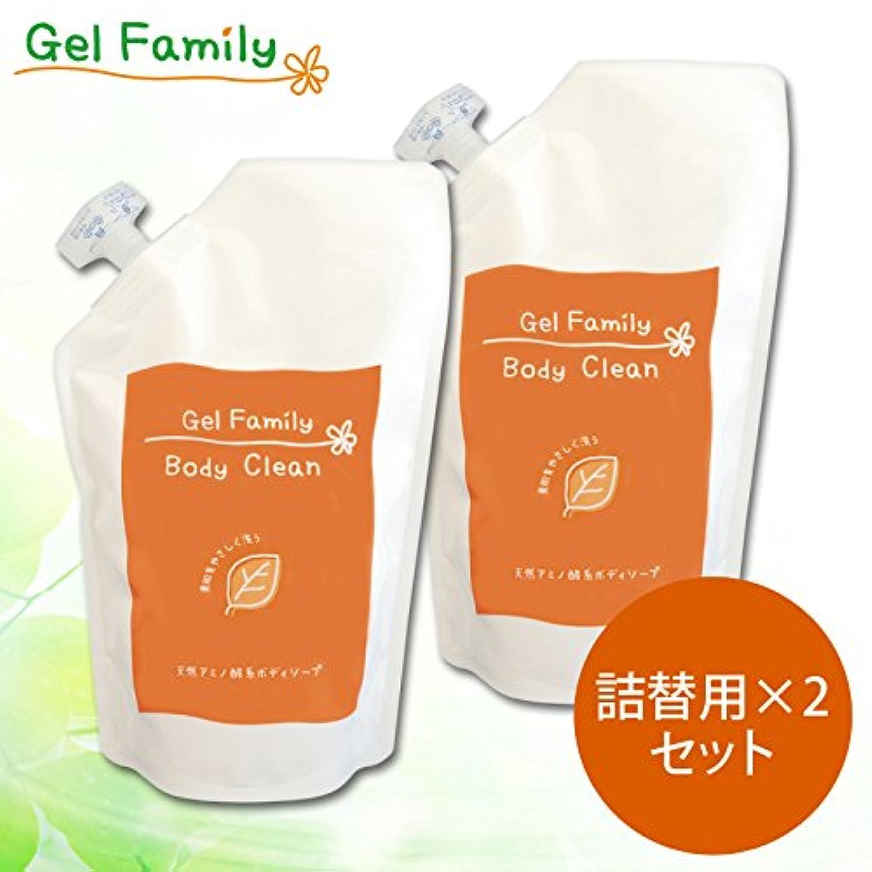 錫粘性のパキスタンゲルファミリーボディクリーン詰め替え2パックセット【GelFamily】