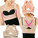 Women Stretchable Breast Push Up Brace Bra & Back Support, Posture Corrector, Corset Belt
