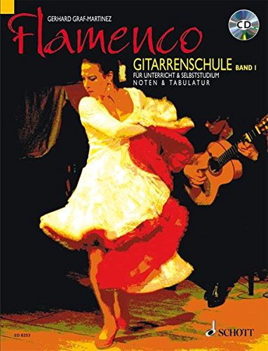 Flamenco Gitarrenschule. Bd.1, mit Audio-CD