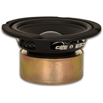 """Goldwood Sound GW-5028/S Shielded 5.25"""" Woofer 130 Watt 8ohm Replacement Speaker"""