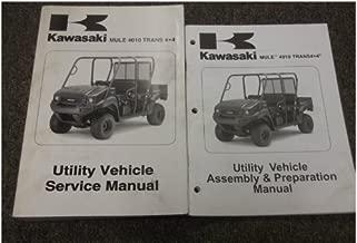 KAWASAKI MULE 4010 TRANS4X4 DIESEL SERVICE MANUAL 2009 99924-1409-01