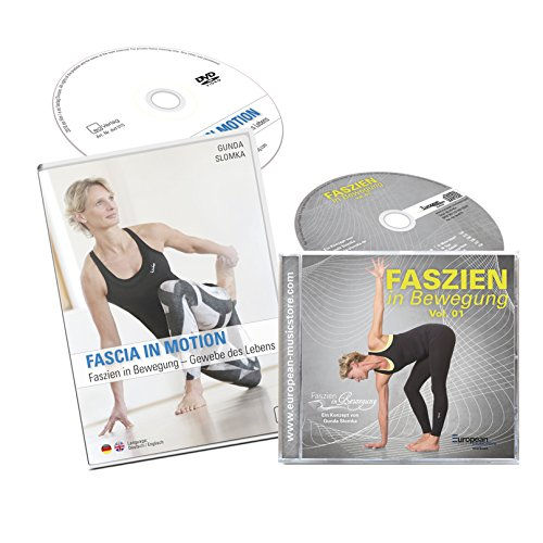 Faszien in Bewegung: DVD (2) + CD - Faszien Fitness Trainingspaket mit Gunda Slomka