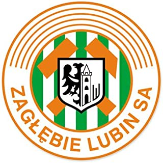 Zaglebie Lubin SA - Poland Football Soccer Futbol - Car Sticker - 4