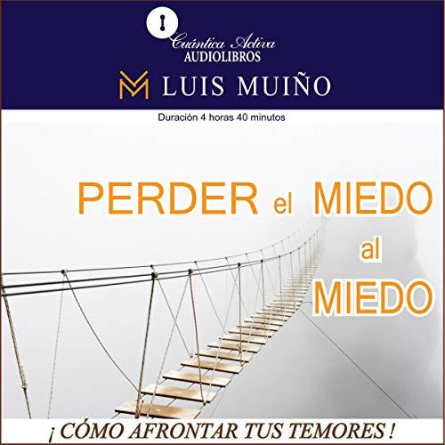 Diseño de la portada del título Perder el miedo al miedo