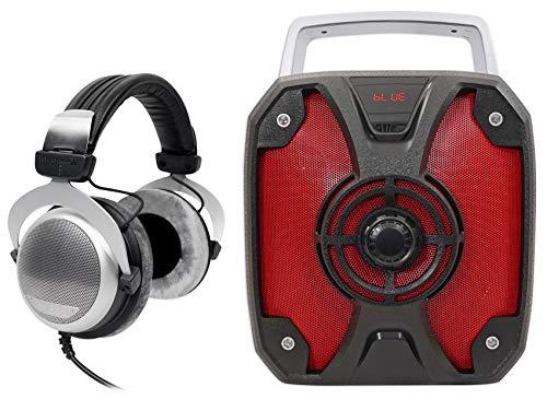Why Should You Buy Beyerdynamic DT 880 Premium 600 Ohm HiFi Headphones + Rockbox Bluetooth Speaker