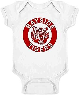 Bayside Tigers 90s Retro Halloween Costume Infant Baby Boy Girl Bodysuit