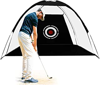LAIWEN Golf Nets for Backyard Driving Golf Hitting Net High Impact Practice Nets Driving Indoor and Outdoor Golfing Training Net Range Chipping with Target Carry Bag