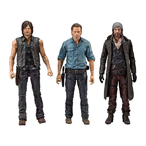 Walking Dead 13197 TV Allies Deluxe - Juego de Figuras de acción, Multicolor