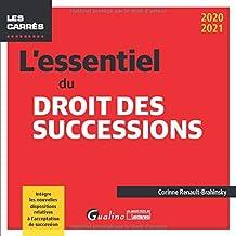 Livres L'essentiel du droit des successions PDF