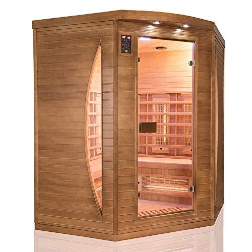 France Sauna Sauna Infrarossi Spectra 3 Posti Angolare