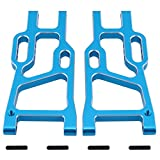Hobbypark 106621 Aluminum Rear Lower Suspension Arms Blue (L/R) for Redcat Shockwave Tornado Epx (PRO) Off Road Buggy Upgrade Parts