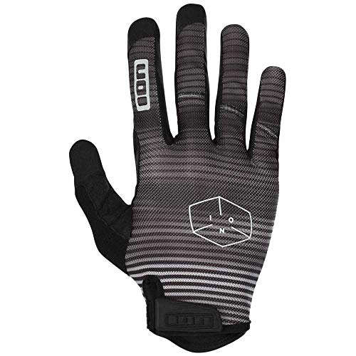 Ion Path MX DH FR Fahrrad Handschuhe lang schwarz/grau 2018: Größe: XXS