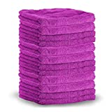 SHINE ARMOR Microfiver Towels - Color May Vary | 10 Pack