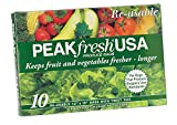 Peak Fresh Re-Usable Produce BagsSet of Two (20 bags total) by Peak Fresh