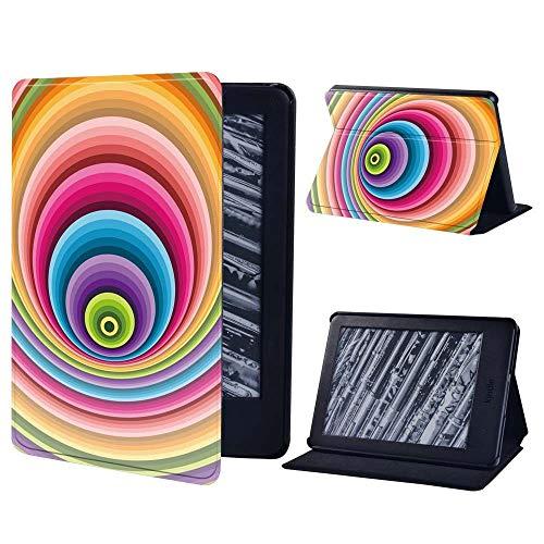 BHTZHY Paperwhite 2 6Th Gen - Funda con función atril para tablet Kindle Paperwhite 1 5Th/2 6Th/3 7Th/4 10Th/Kindle 8Th/10Th (piel), color blanco