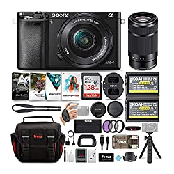 Sony a6000 Bundle - 10 pieces - on Amazon