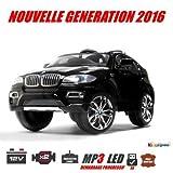 BMW X6, schwarz metallic, Version Luxe mit Fernbedienung 2,4GHz, Elektroauto Kinder, 12Volt, 2Motoren