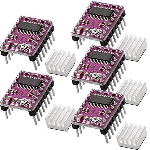 BZ 3D DRV8825 modulo driver motore passo-passo 4 strati PCB per stampante 3D RepRap 1,4 MKS Gen L SKR V1.3 scheda di controllo. (5 confezione)