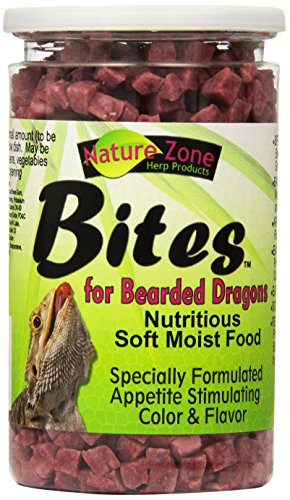Nature Zone SNZ54621 Bearded Dragon Bites Soft Moist Food, 266 ml