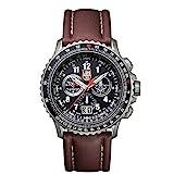 Luminox F-22 RAPTOR™ Chronograph Men's Quartz watch with Black dial featuring LLT Luminox light Technology 45 millimeters Titanium case and Brown Leather Strap XA.9247
