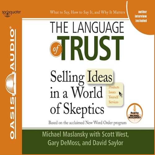 The Language of Trust audiobook cover art