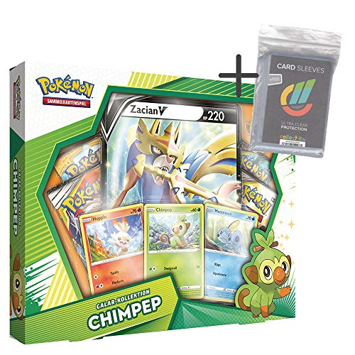 Unbekannt Pokemon - Galar-Kollektion - Chimpep PIN-Box - Deutsch