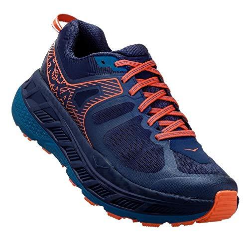 HOKA ONE ONE Men's Stinson ATR 5 Trail Running Shoes (11 D US, Mood Indigo/Blue Sapphire)