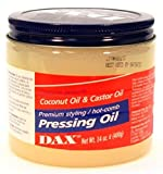 Dax Pressing Oil 14 Ounce Jar (414ml) (3 Pack)