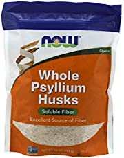 Now Food Whole Psyllium Husks, 454 G