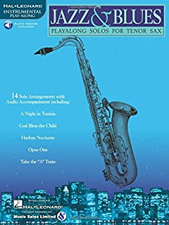 Jazz & Blues: Play-Along Solos for Tenor Sax
