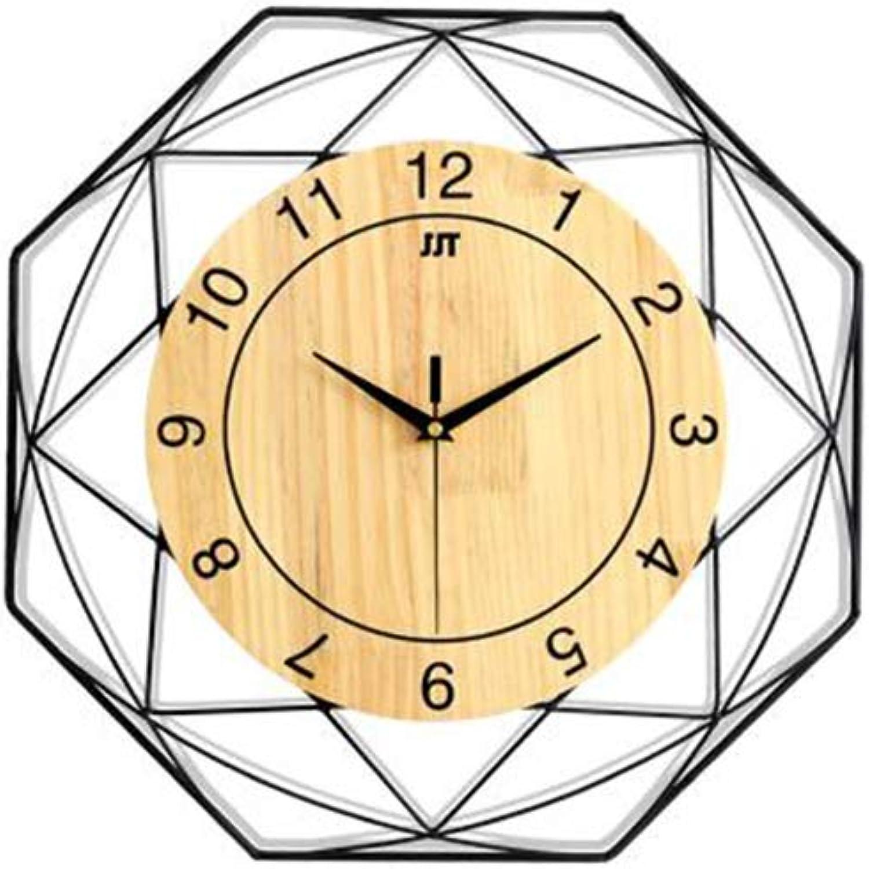 la calidad primero los consumidores primero WYZBD Reloj Mudo Mudo Mudo Reloj de la Parojo del Reloj de la Sala de Estar Dormitorio Decorativo Reloj Moderno Simple,34CM  alto descuento